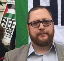 Andrew Murray - activist for Palestine.